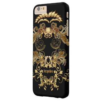Floral Skull Barely There iPhone 6 Plus Case