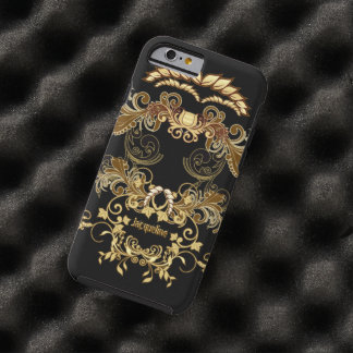 Floral Skull Tough iPhone 6 Case