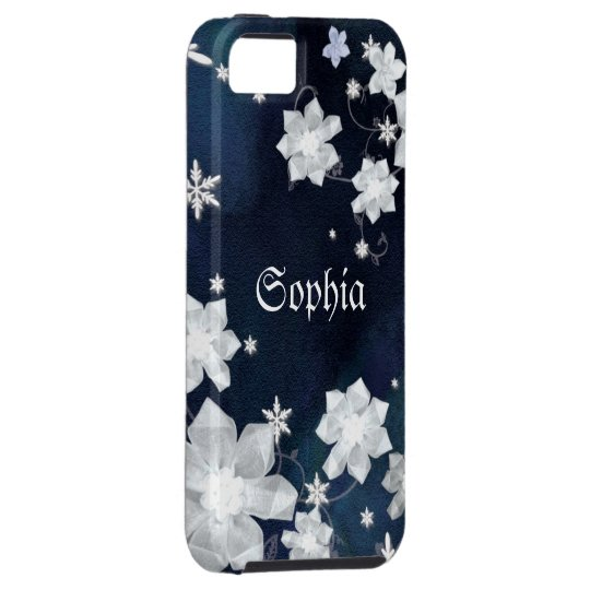 Floral Snowflakes Cute iPhone 5 Case-Mate
