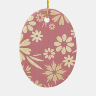 Floral, soft, girly, chic, pink, peach, trendy, ornament