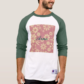 Floral, soft, girly, chic, pink, peach, trendy shirts