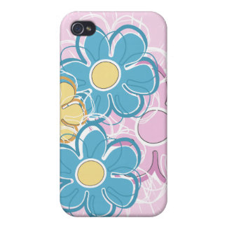Floral Splash iPhone 4/4S Case