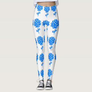 Floral Spot Leggings