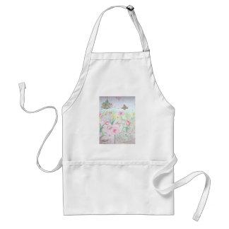 Floral Spring Garden Standard Apron