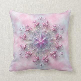 Floral Spring Sunrise cushion