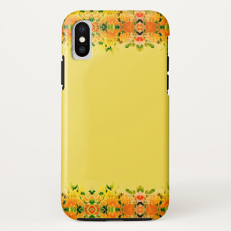 Floral Spring Yellow Gold Fashion iPhone Case