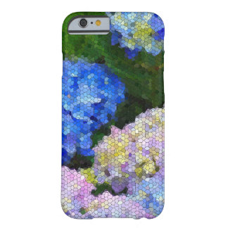 Floral Stained Glass l Colorful Garden Hydrangeas Barely There iPhone 6 Case