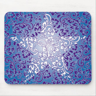 floral star mouse mats