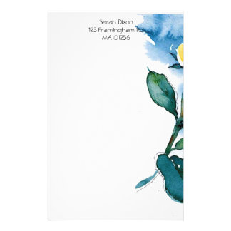 Floral Stationary Personalised Stationery