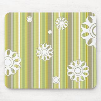 floral stripes_3a mouse mats