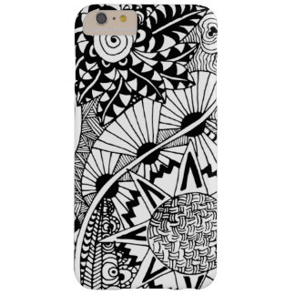Floral Style Doodle Barely There iPhone 6 Plus Case