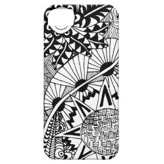 Floral Style Doodle iPhone 5 Cases
