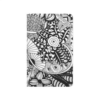 Floral Style Doodle Journal
