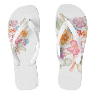 Floral-style flip-flops flip flops