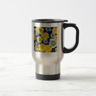 Floral Sugar Coffee To-go! Stainless Steel Travel Mug