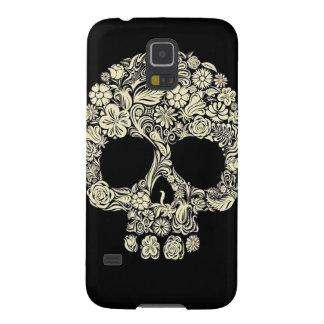 Floral Sugar Skull Samsung Galaxy S5 Case