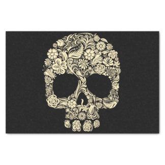 Floral Sugar Skull Tissue Paper