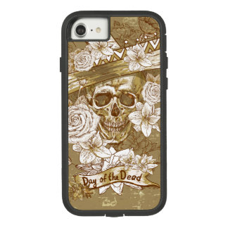 Floral Sugar Skull Tough Extreme iPhone 7 Case