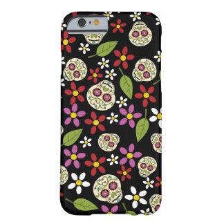 Floral Sugar Skulls iPhone 6 Case