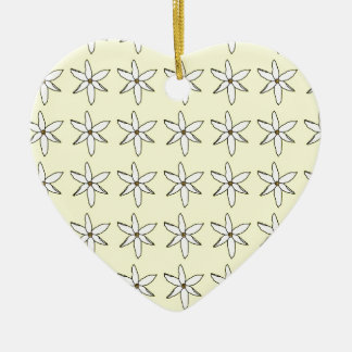 Floral Summer Christmas Ornament