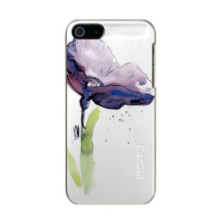 Floral summer design with hand-painted abstract incipio feather® shine iPhone 5 case