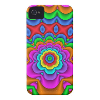 Floral Summer Fun, Fractal iPhone 4 case