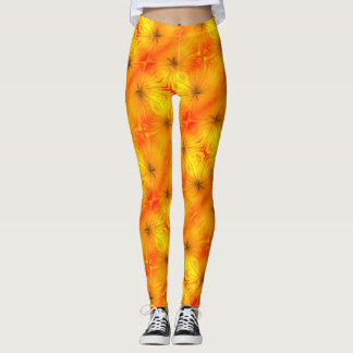 Floral Sunburst Leggings
