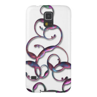 Floral Swirl Cases For Galaxy S5