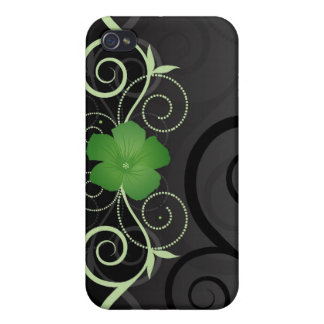 Floral Swirls i Case For The iPhone 4