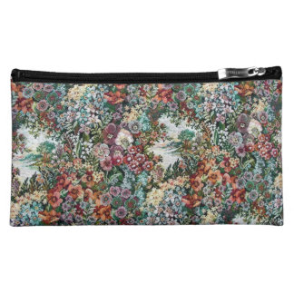 Floral Tapestry Cosmetics Bags