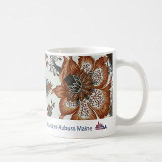 Floral Tapestry Museum LA Mug