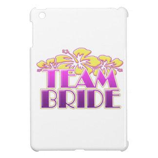 Floral Team Bride Bridesmaids wedding classy fun iPad Mini Cover