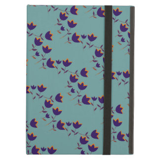 floral-themed purple tulips iPad air cases