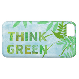 Floral Think Green iphone5 case iPhone 5C Cover
