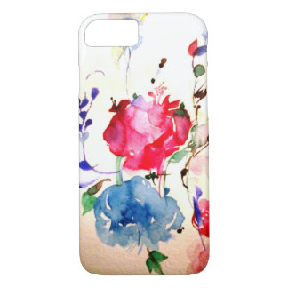 floral touch phone case