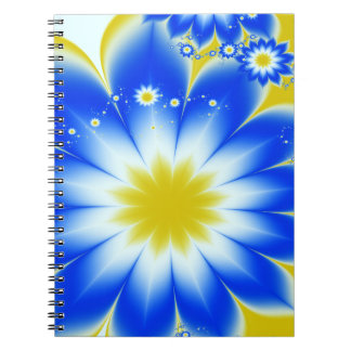 Floral Tropical Breeze Notebook
