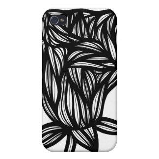 Floral Unique Cute Cool iPhone 4 Case