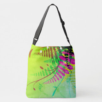 floral vector tote