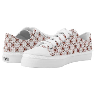 floral victorian lace. low tops