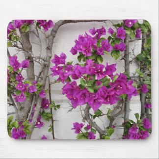 floral vine mouse pad