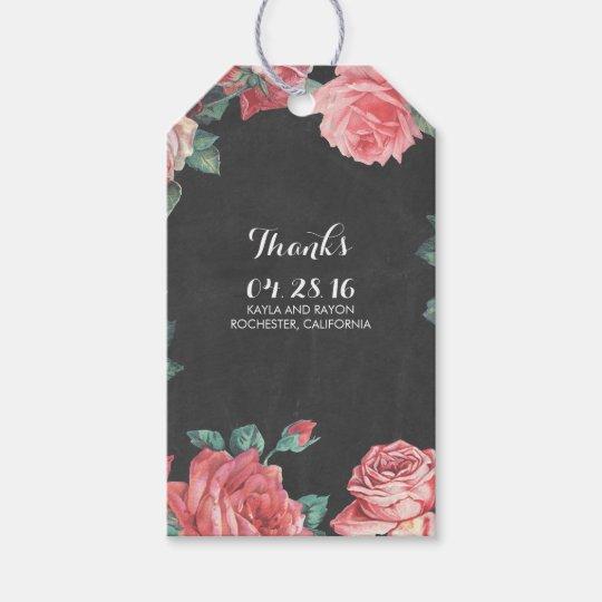 floral vintage chalkboard wedding