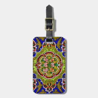 Floral Vintage Decorative Design Personalized Luggage Tag