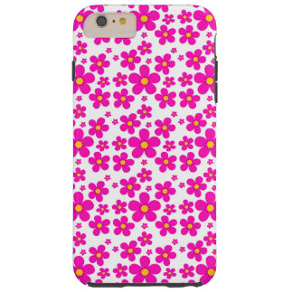 floral vintage pink pattern tough iPhone 6 plus case