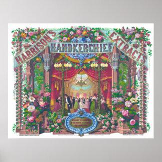 Floral Vintage Poster