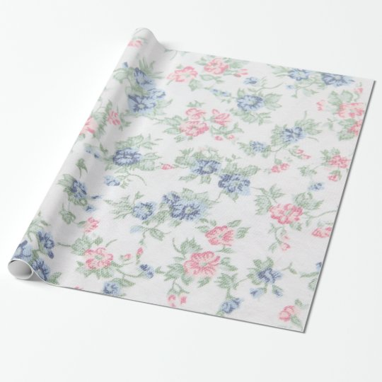 Vintage Wrapping Paper Zazzle Uk