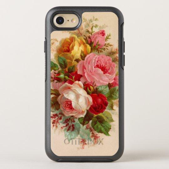 Floral Vintage Rose Bouquet OtterBox Symmetry iPhone 8/7
