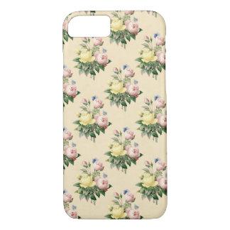 Floral vintage rose flower pattern phone case