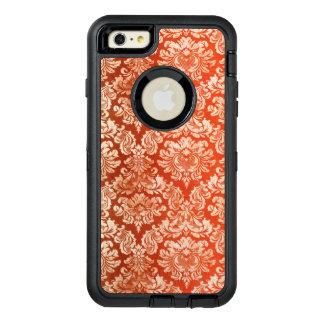 Floral vintage wallpaper background OtterBox defender iPhone case