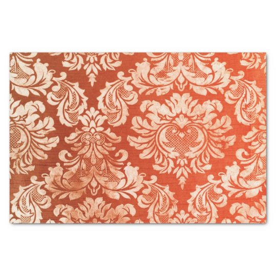 Floral vintage wallpaper background tissue paper