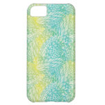 Floral Vintage Yellow And Blue Gradient iPhone 5C Case